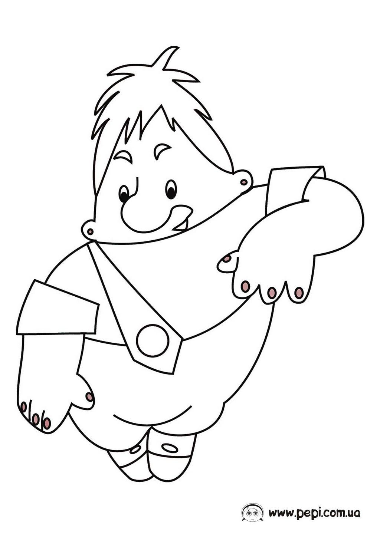 Советские и российские мультфильмы  Раскраски для детей