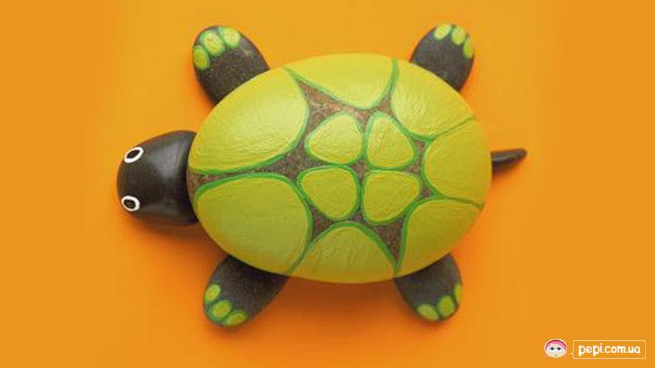 Поделки из камня черепаха