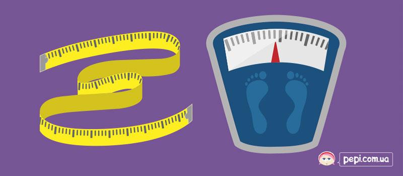 Таблиця норми зросту і ваги дитини