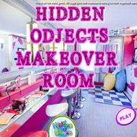 Заховані предмети - кімната для нанесення макіяжу