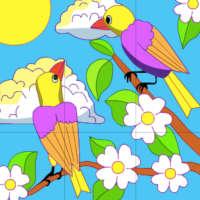 Пазл Пташки