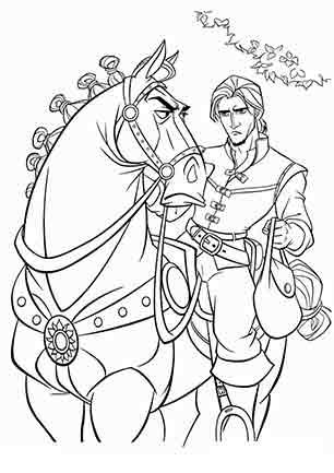 Флін на коні Максимус