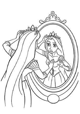 Рапунцель в дзеркалі