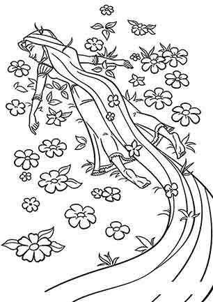 Рапунцель в квітах