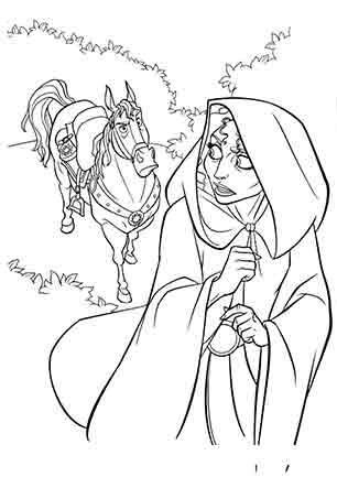 Кінь Максимус і мачуха Готель