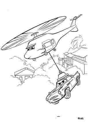 Тачку переносять на гелікоптері