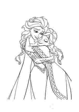 Ельза обіймає Анну