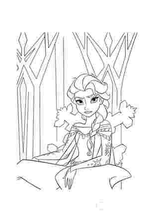 Ельза в льодяному палаці