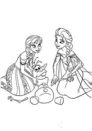 Анна, Ельза і Олаф