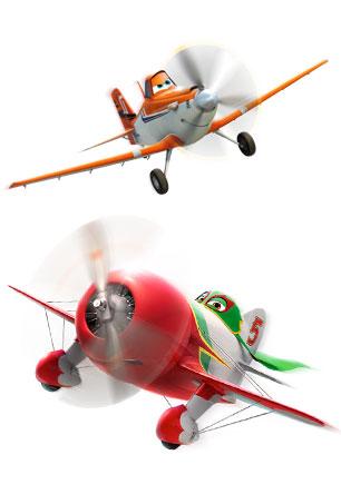 Розмальовки Літаки: Вогонь і вода