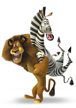 Розмальовки Мадагаскар