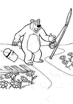 У медвідя все валиться з рук