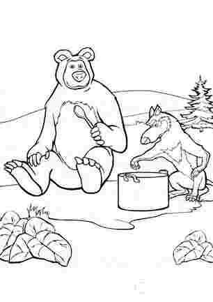 Медвідь і вовк