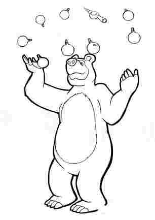 Медвідь жонглює