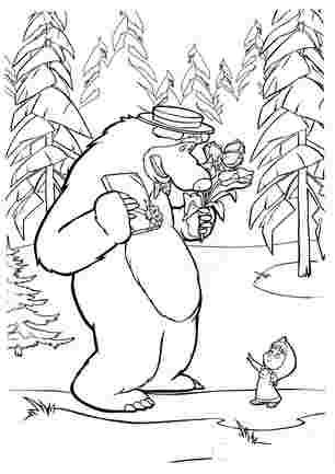 8 березня з Машою та медведьом