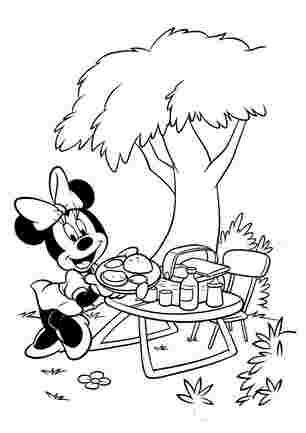 Міні на пікніку
