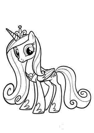 Каденс мої маленькі поні