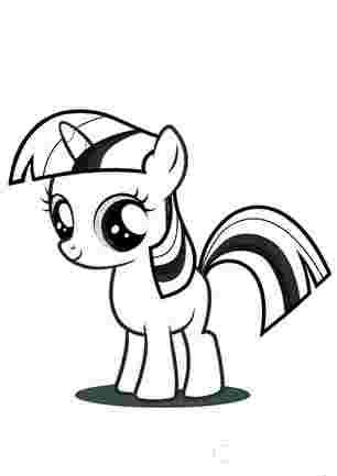 Маленька поні Іскорка