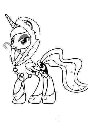 Принцеса Луна мої маленькі поні