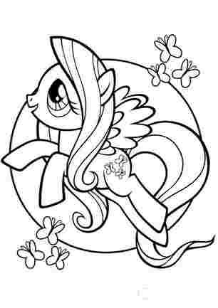 Флаттершайн мої маленькі поні