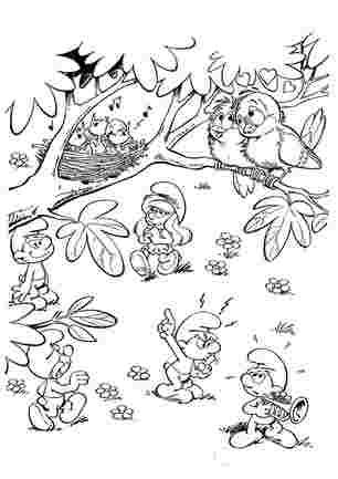 Смурфікі і пташки