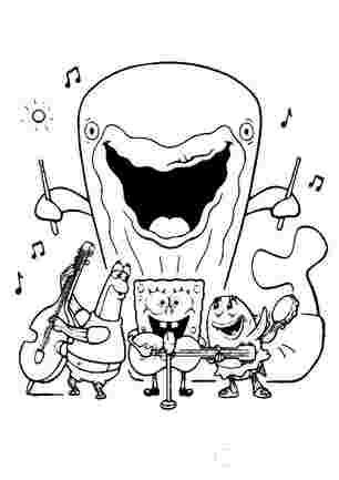 Спанч боб на концерті