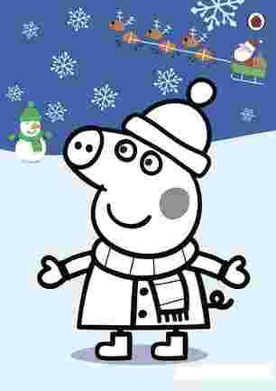 Пеппа на Різдво та новий рік