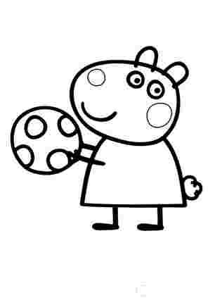 Вівця Сюзі з мячиком