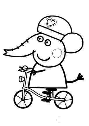 Емілі на велосипеді
