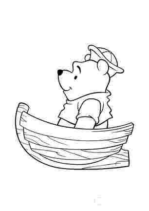Вінні Пух в лодці