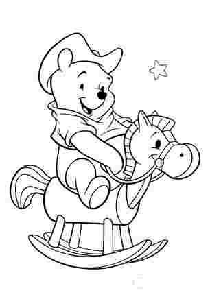Вінні Пух на коні
