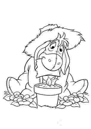 Ослик Іа - садовник