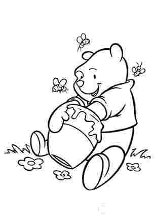 Медведик дуже любить мед
