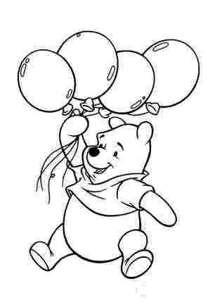 Вінні Пух з повітряними шариками