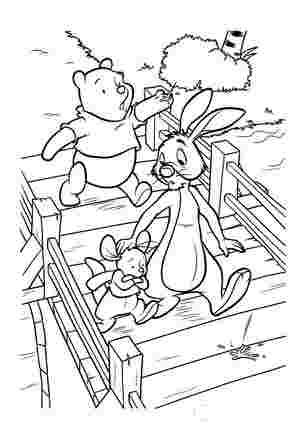 Вінні-Пух і Тигра малюють