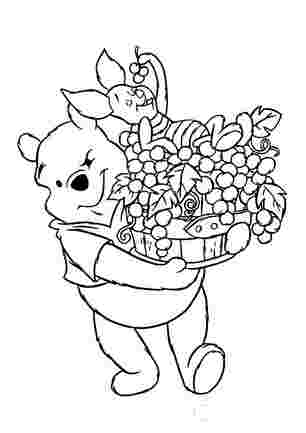 Вінні з П'ятачком збирають яблука