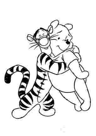 Тигра обіймає Пуха