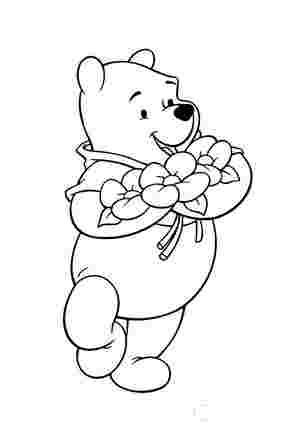 Букет квітів від Вінні Пуха