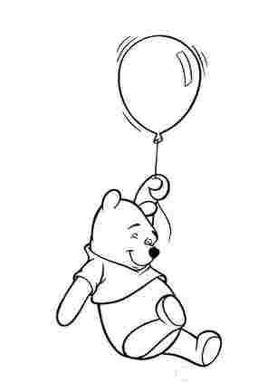 Вінні Пух з повітряною кулькою