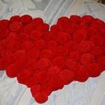 Серце із троянд