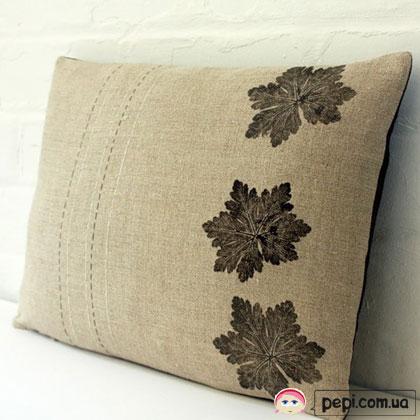 Природний декор подушок