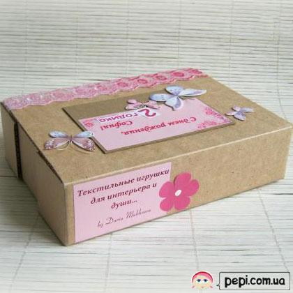 Коробка для подарунка своїми руками - швидко і просто