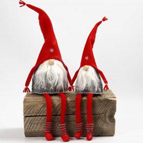 Створення ляльки Санта-Клауса