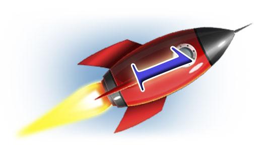 Одиничка мов ракета